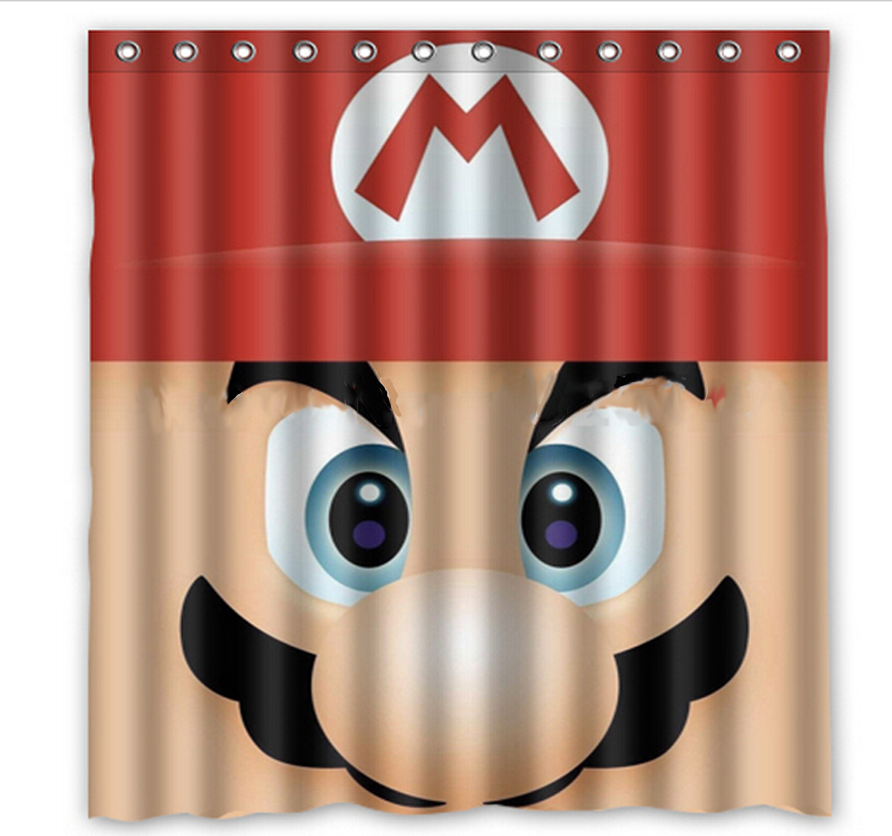 Mario Shower Curtain 60 X 72