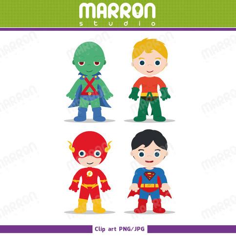 Superhero Inspired Justice League Set Martian Manhunter