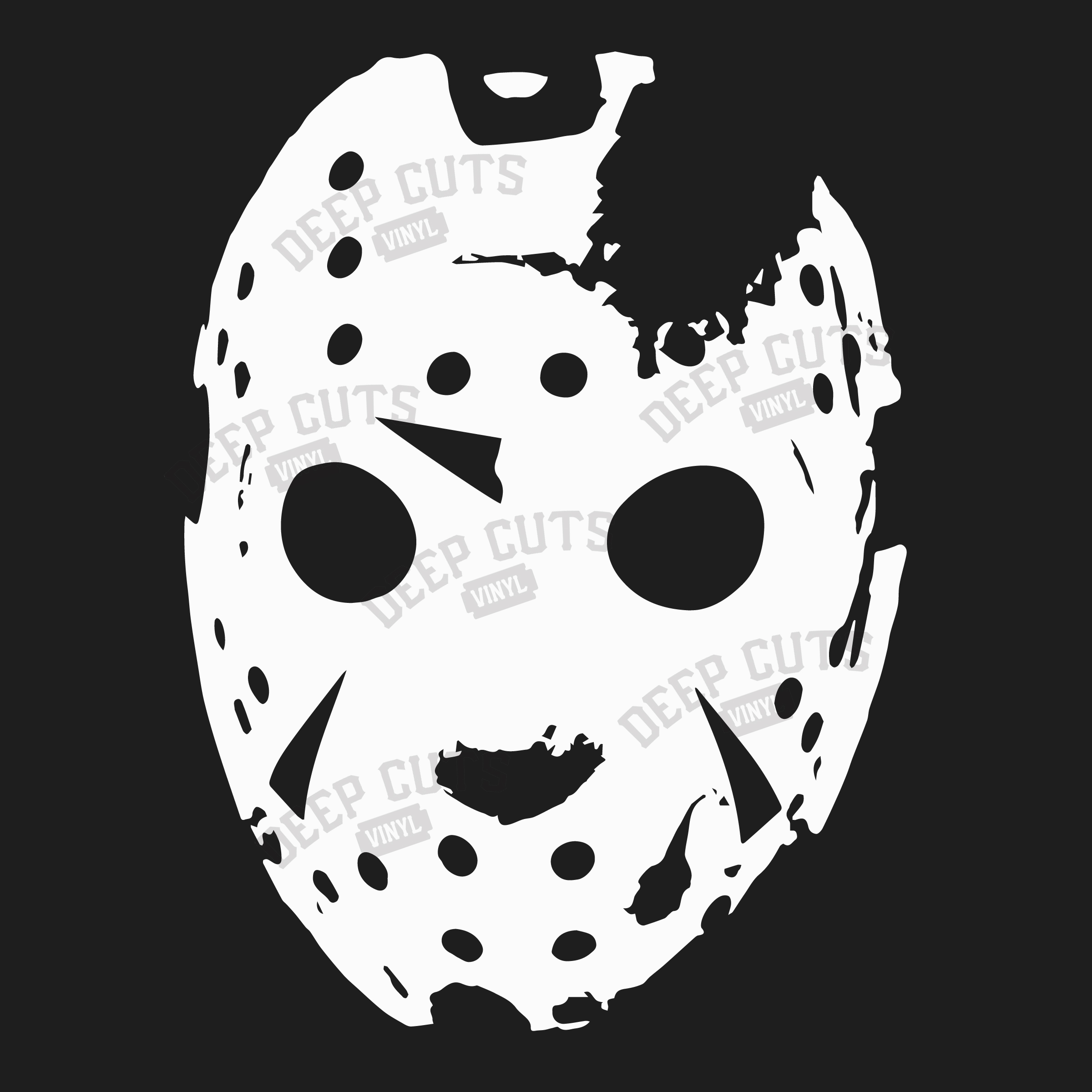 Friday The 13th Mask Vinyl Sticker On Storenvy