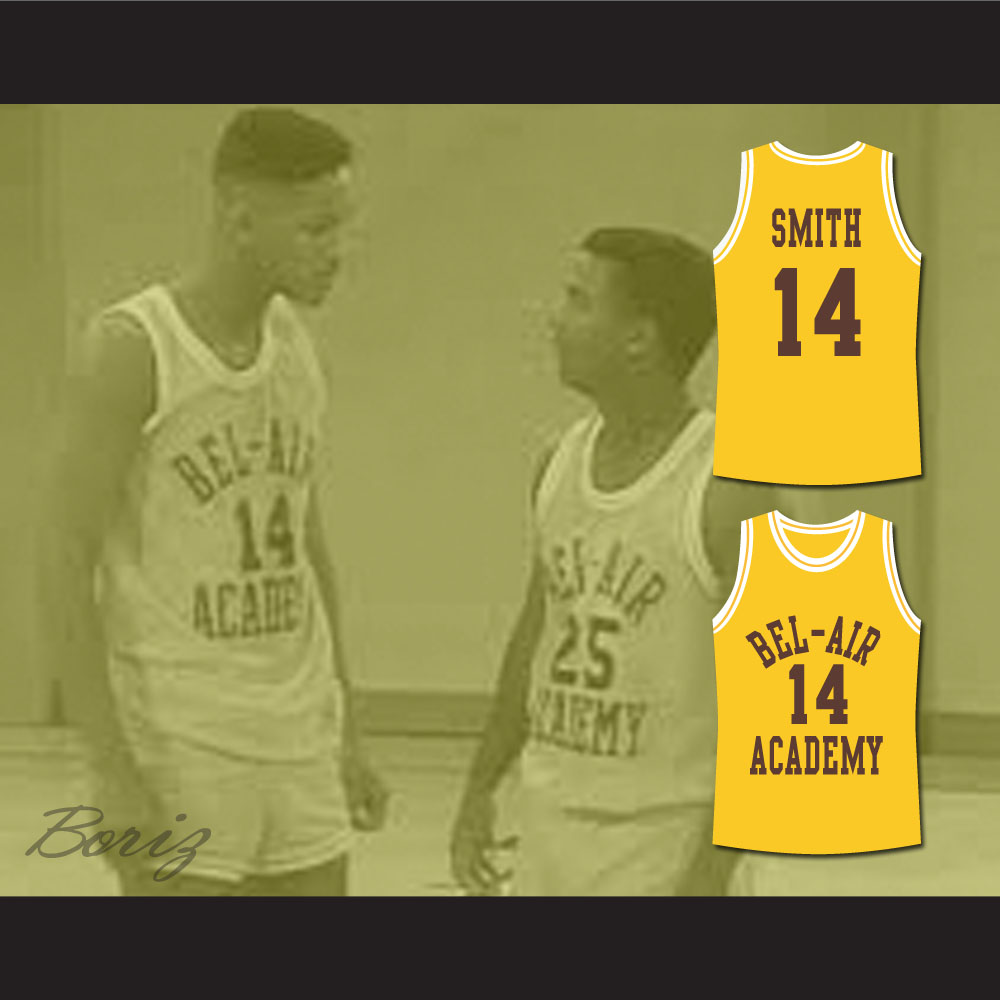 61798edea The Fresh Prince of Bel-Air Will Smith Bel-Air Academy Basketball ...