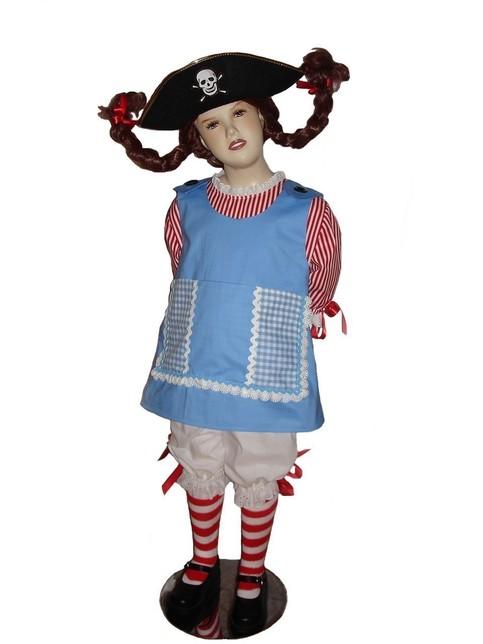 Custom Boutique Halloween Pippi Longstocking Girl Size
