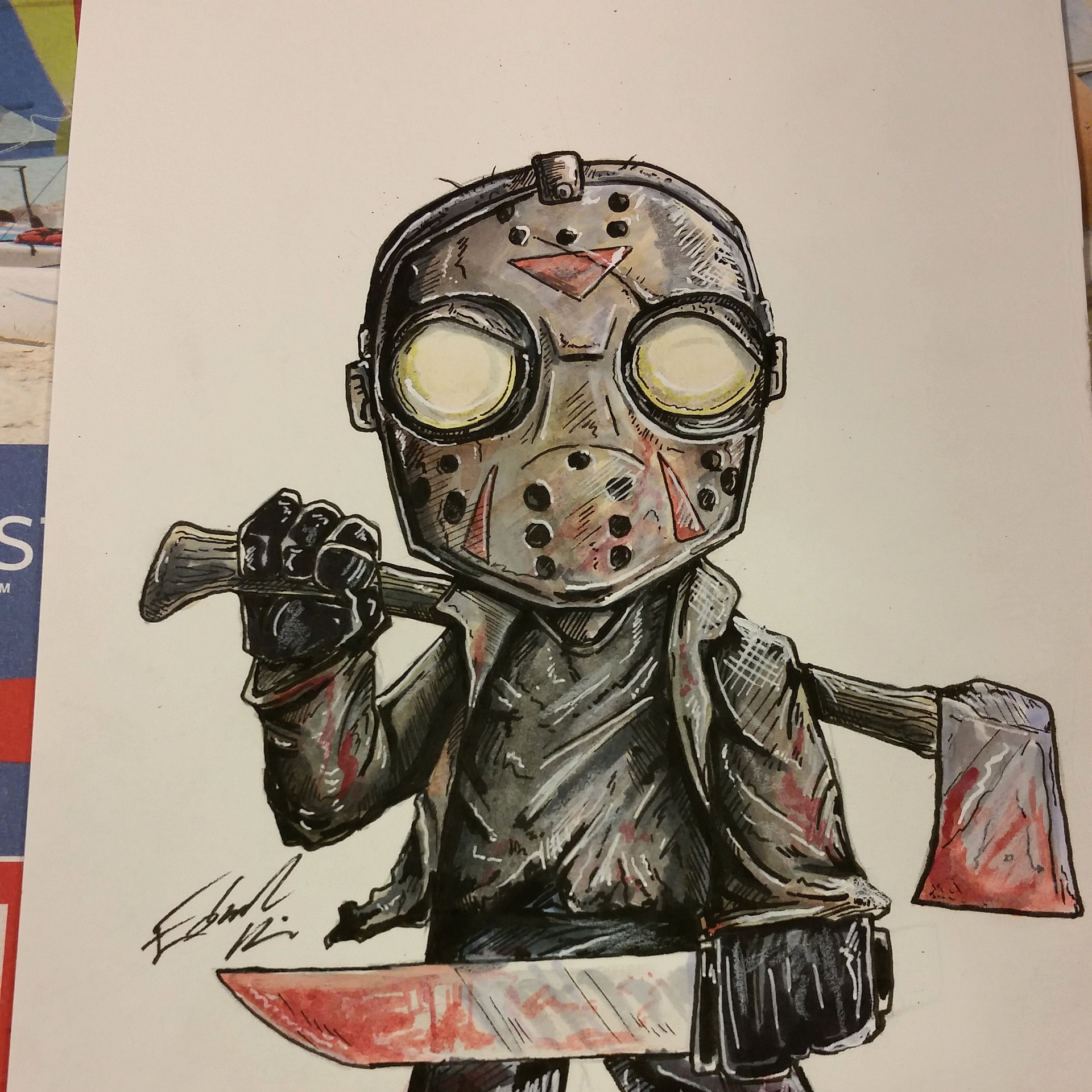 02823b63f6d Jason Voorhees · Taco Boy Designs · Online Store Powered by Storenvy