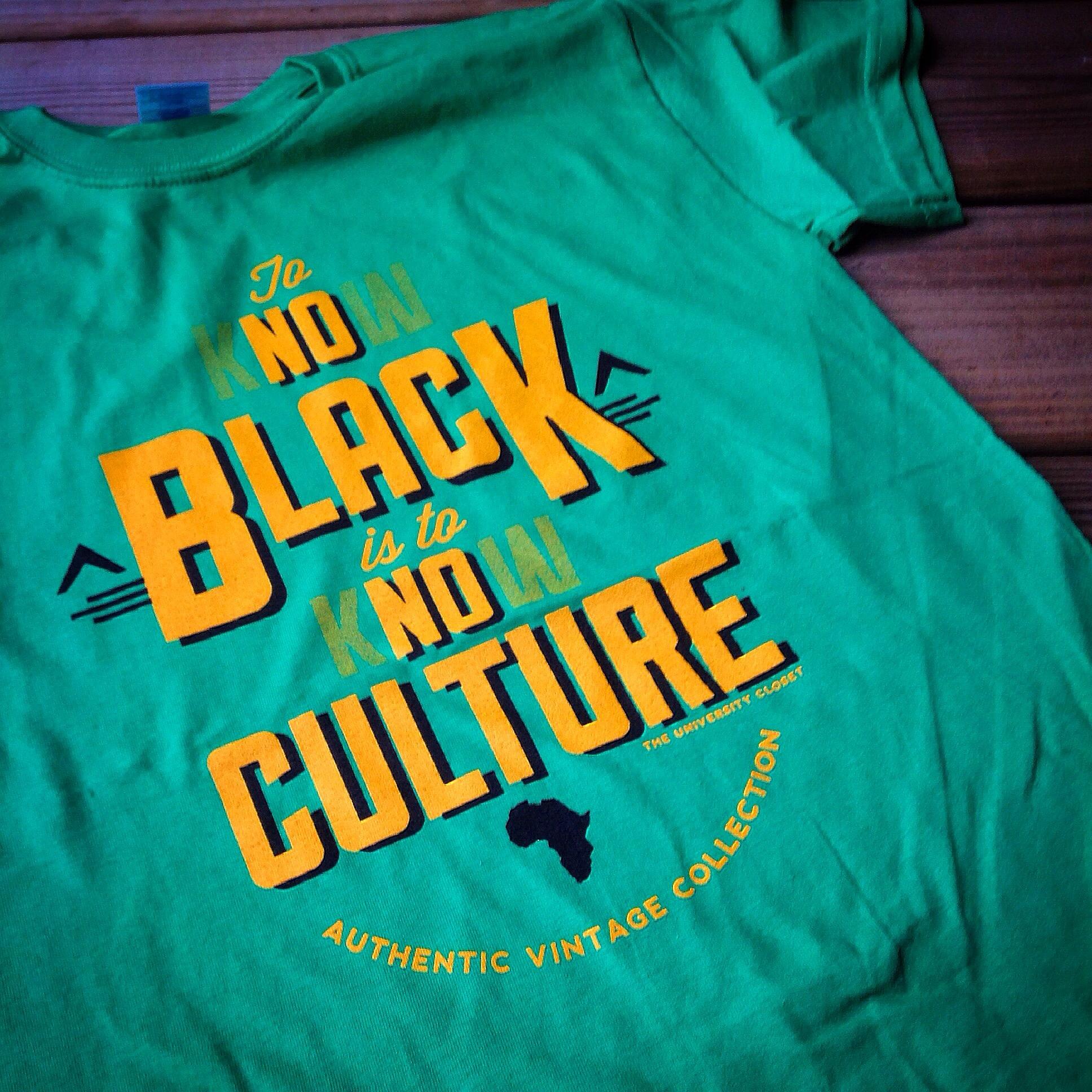 4fd8f6b2 No Black, No Culture Tees · THE UNIVERSITY CLOSET, LLC · Online ...