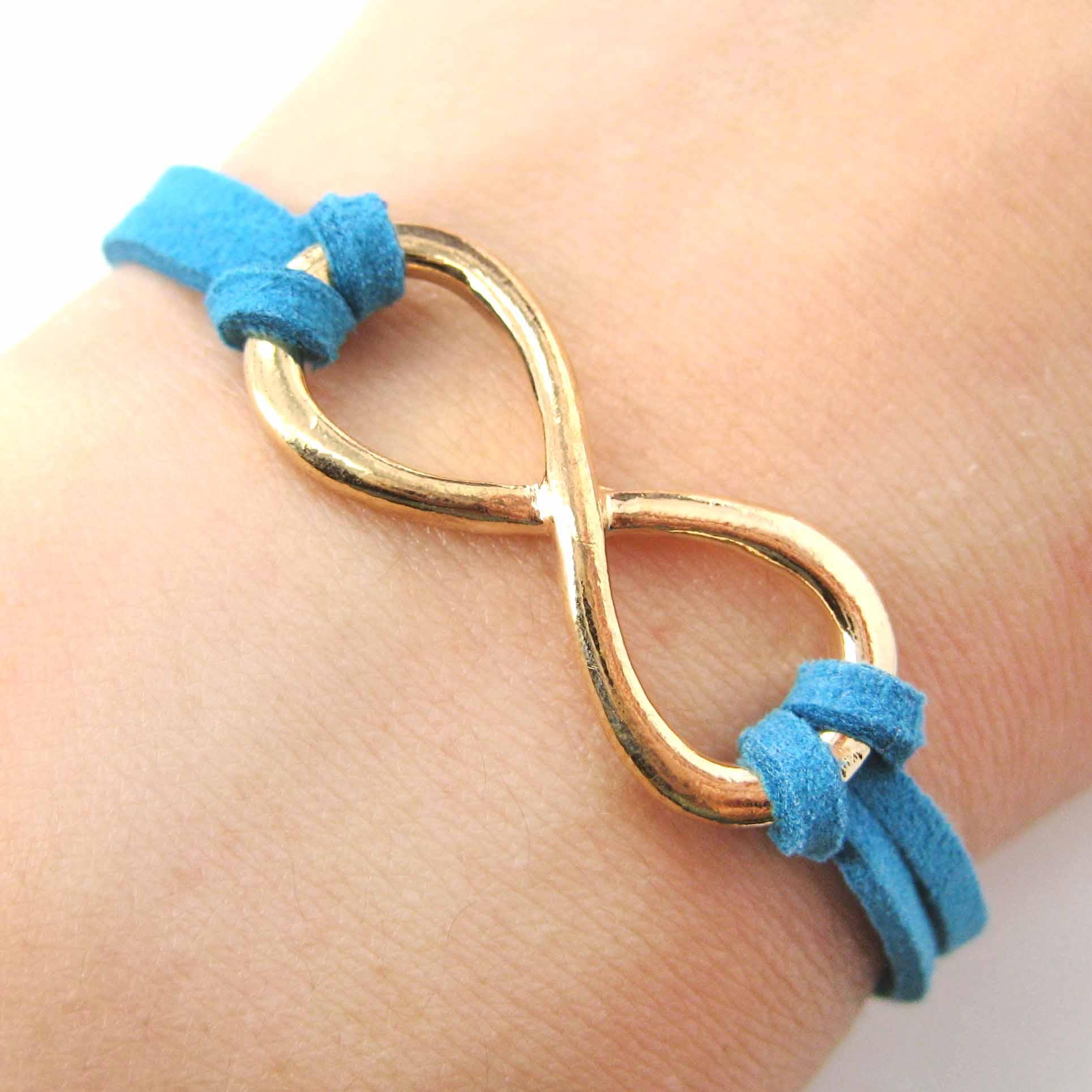 Dotoly Plus | Beautiful Infinity Loop Bracelet in Gold on ...