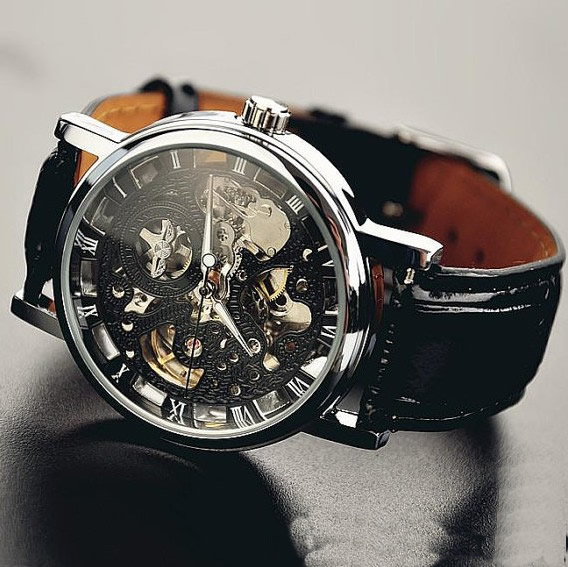 men s watch vintage style watch handmade style watch leather vw6 original