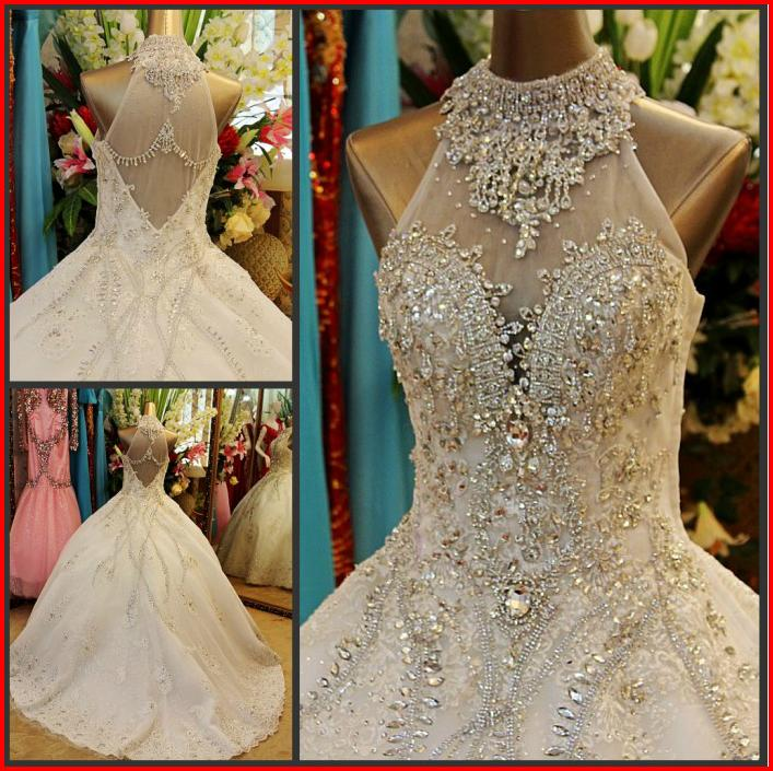 Swarovski Crystal Wedding Gowns