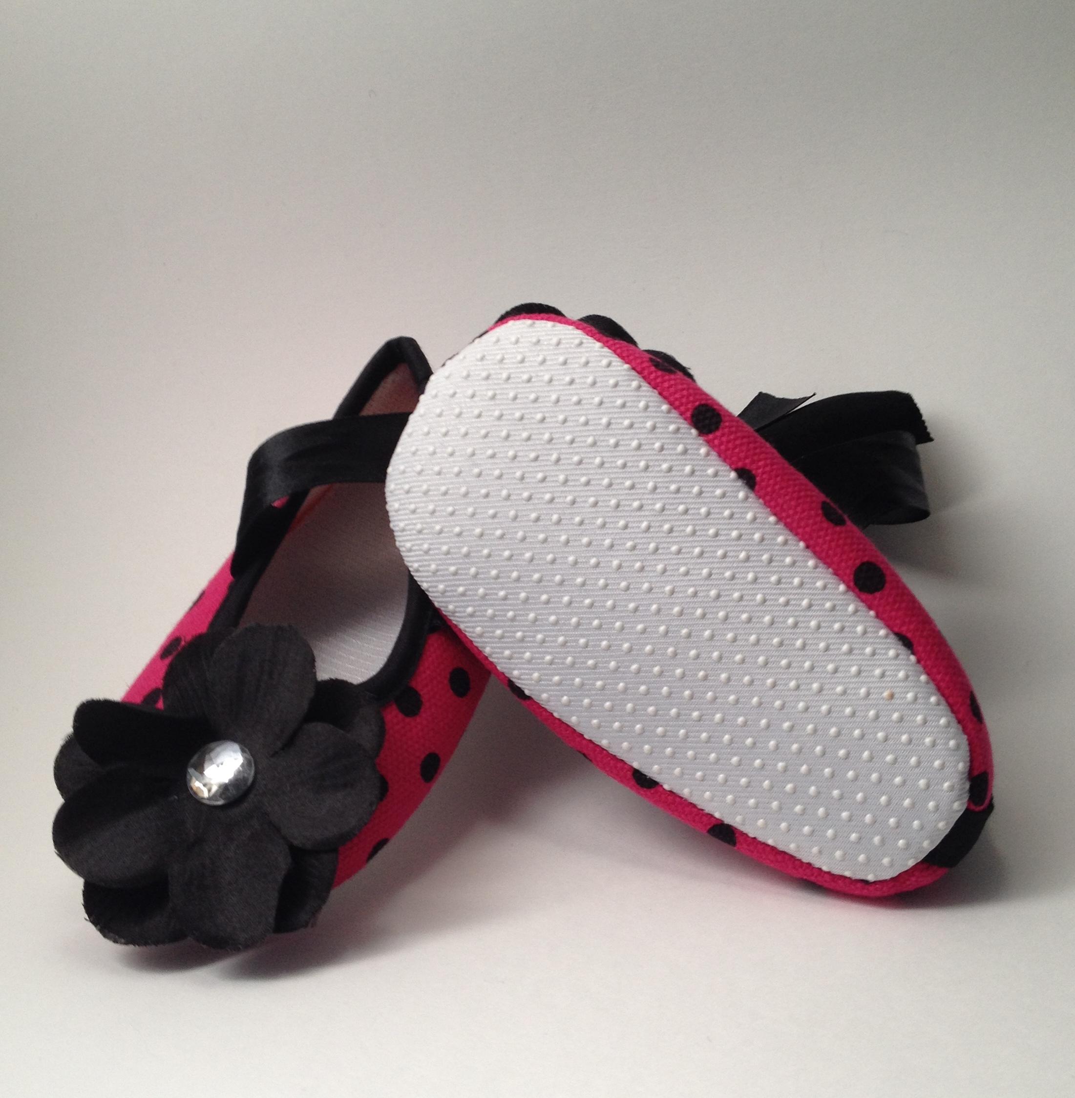 4b577f2ba52 Polka Dot Baby Shoes on Storenvy