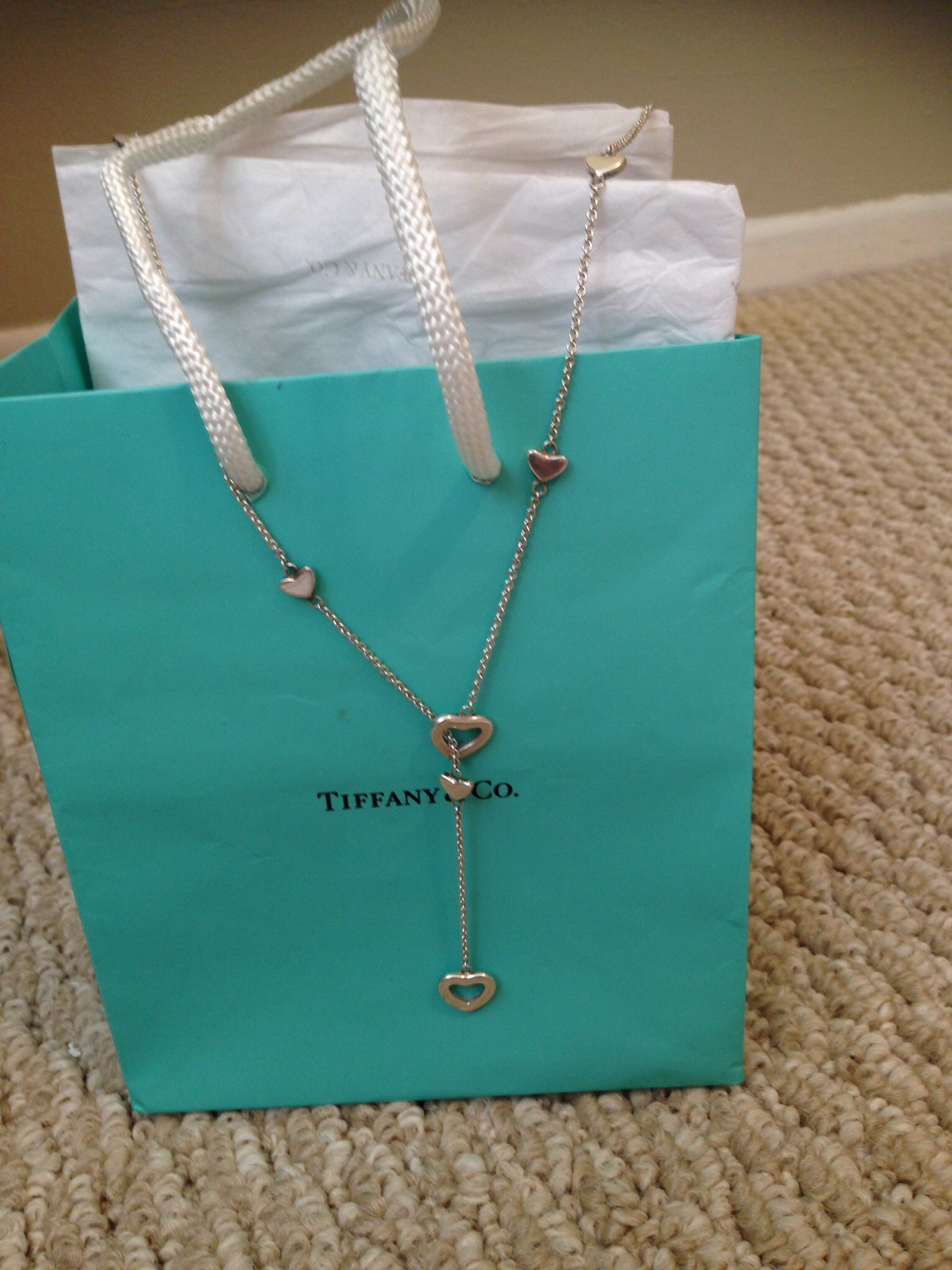4fbcf480a34dd Authentic Tiffany & Co. Lariat Necklace from Kismet Fashions