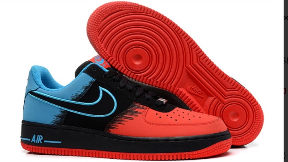 """NIKE AIR FORCE 1 LOW """"SPIDER MAN"""" Color"""