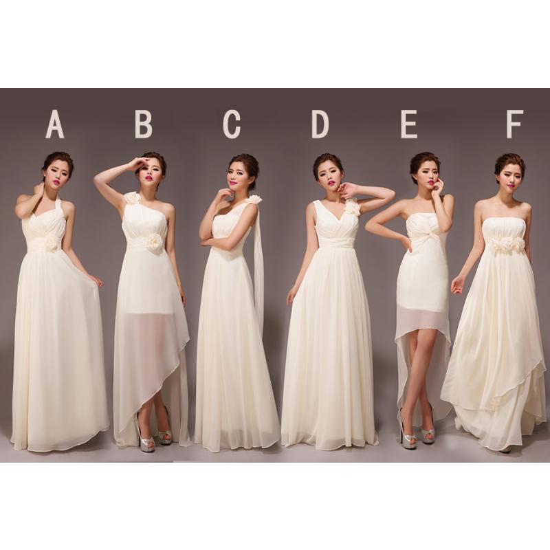 4131353dbf champagne bridesmaid dresses