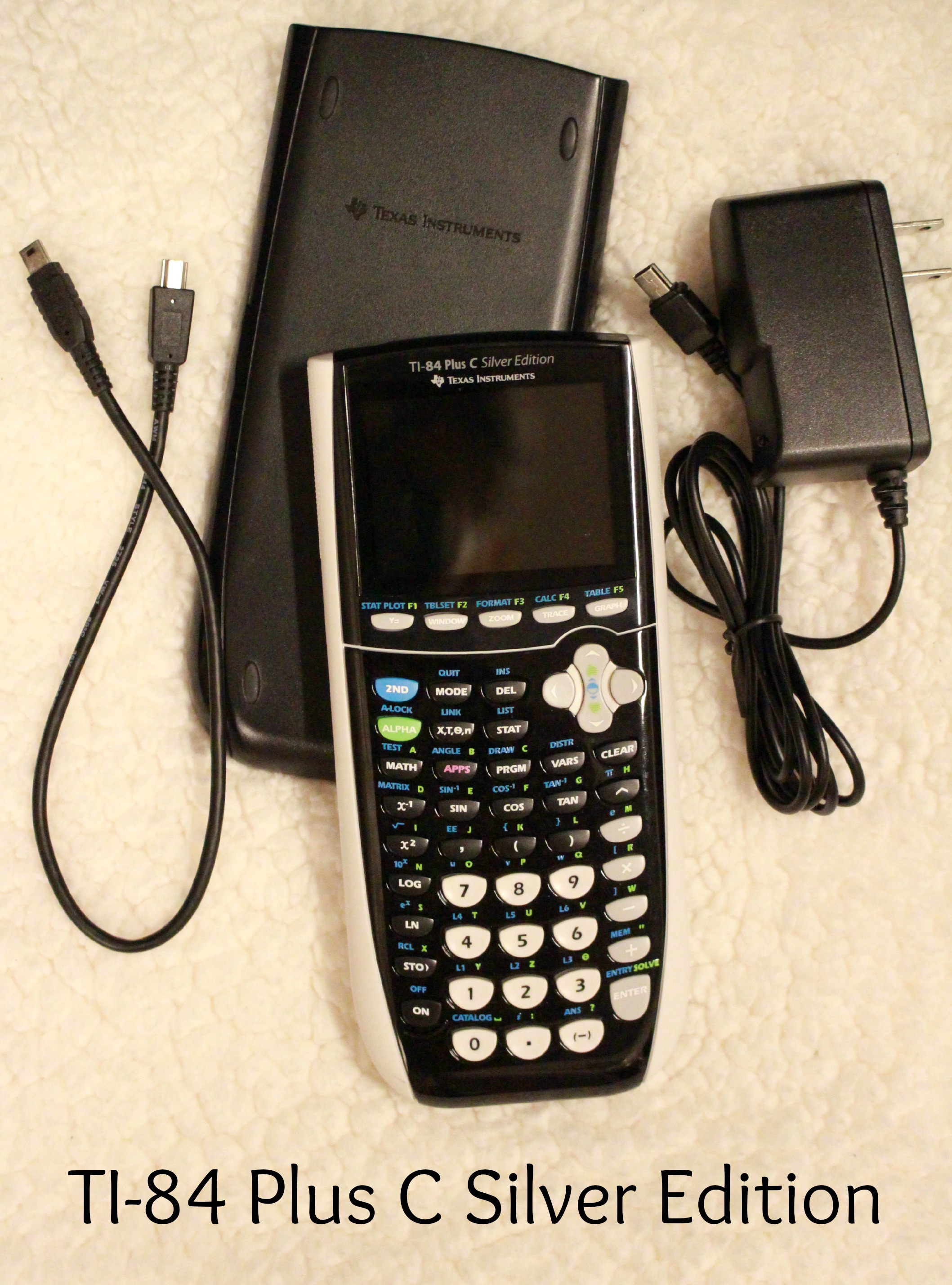 **BRAND NEW**TI-84 Plus C Silver Edition Calculator sold by RaidMyRoomNow