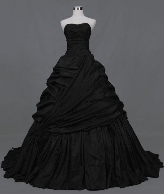 Plus Size Black Wedding Dress Ball Gown On Storenvy
