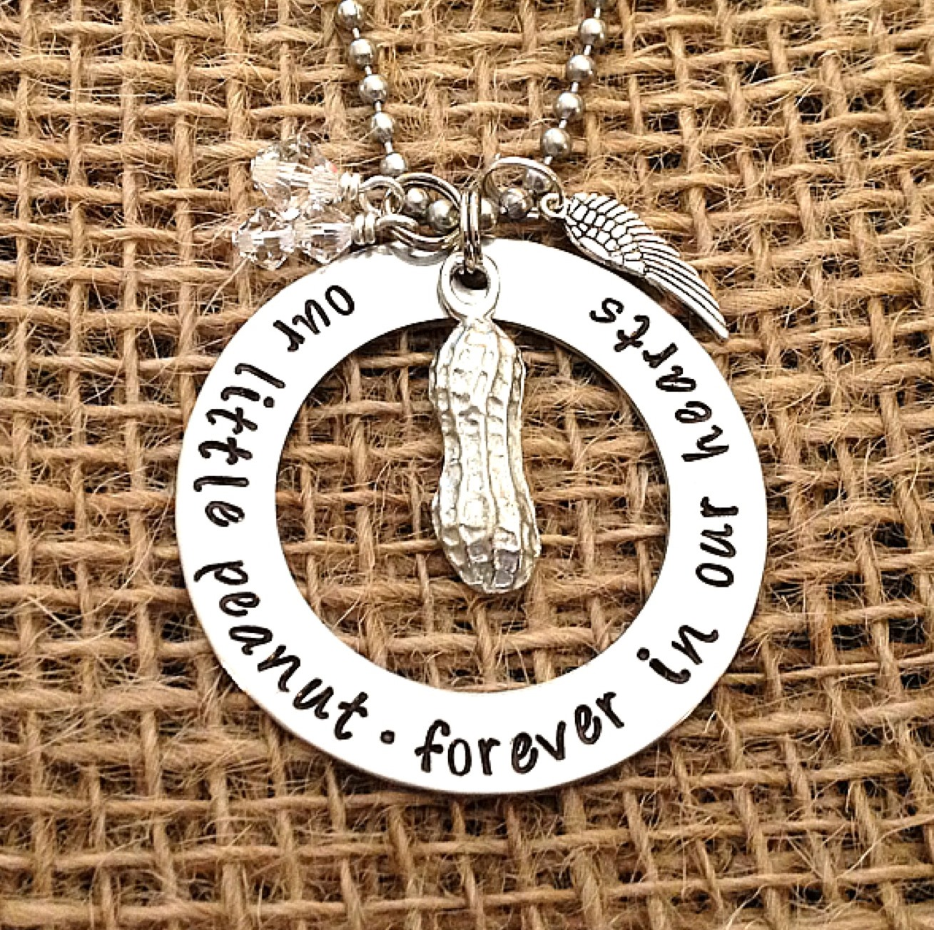 footprints remembrance baby necklace heart my collections loss in stillbirth jewelry infant for gifts miscarriage