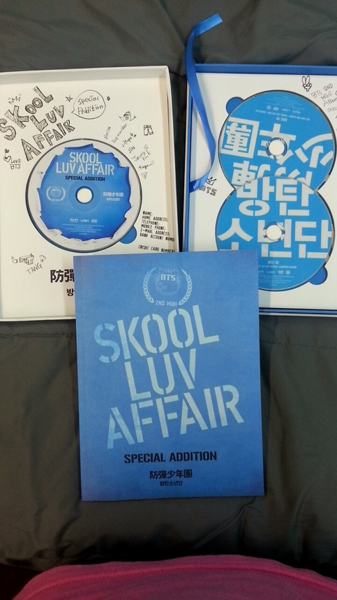 Skool Luv Affair Special Edition Bts Album On Storenvy