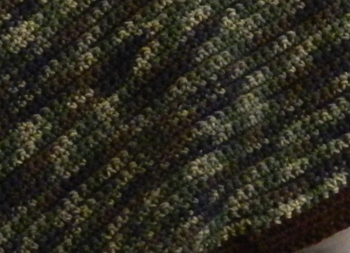 4/' x 4/' Crochet Camo Blanket Also Available in Pink Camo