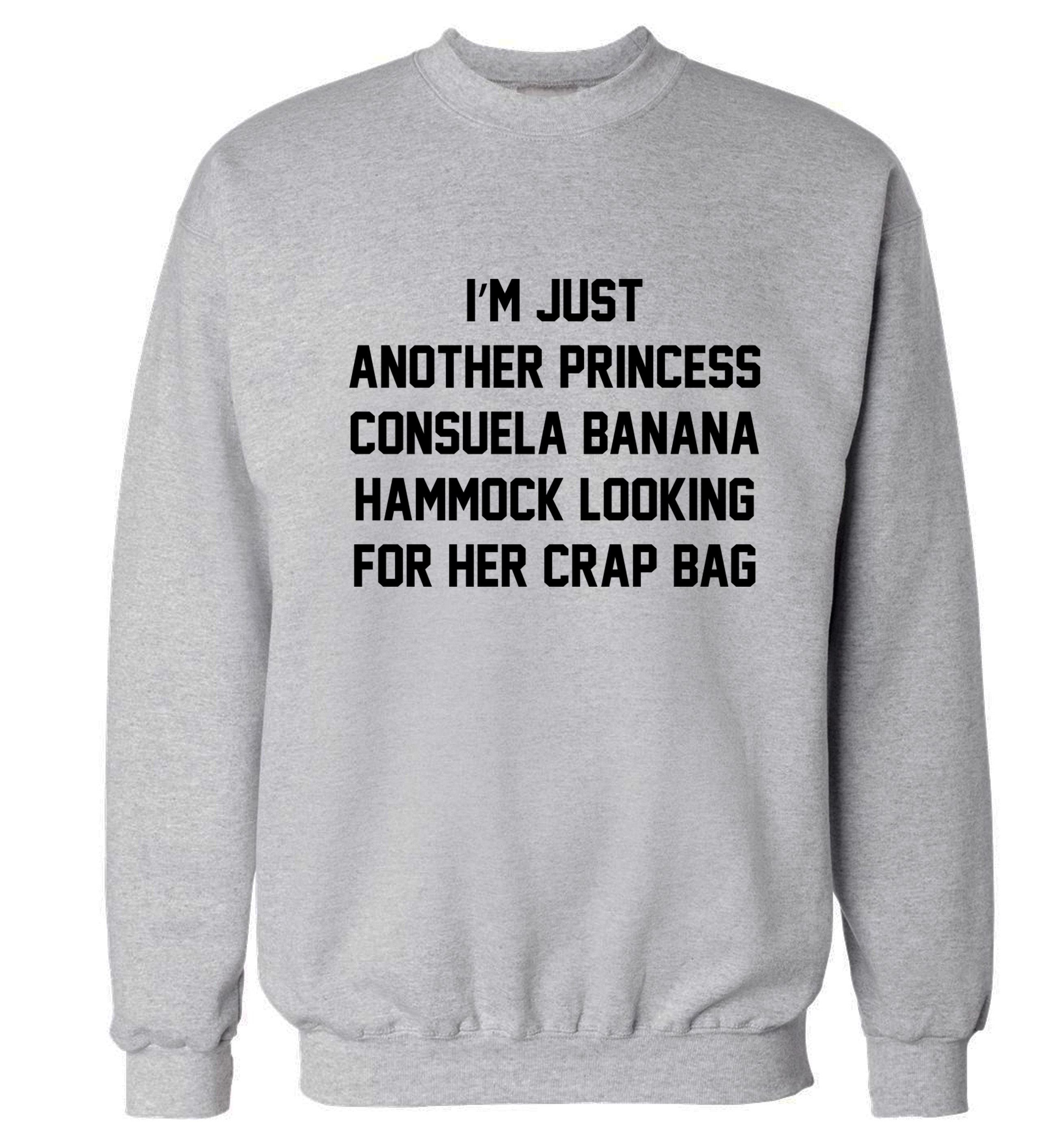 120 20grey jumper small i u0027m just another princess consuela banana hammock looking for her      rh   storenvy