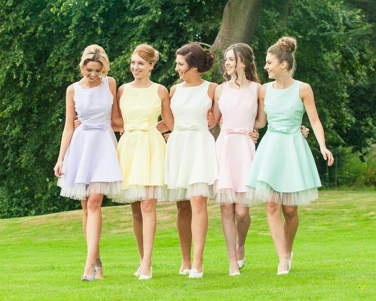 Short Bridesmaid Dresses Custom Color Bridesmaid Dresses