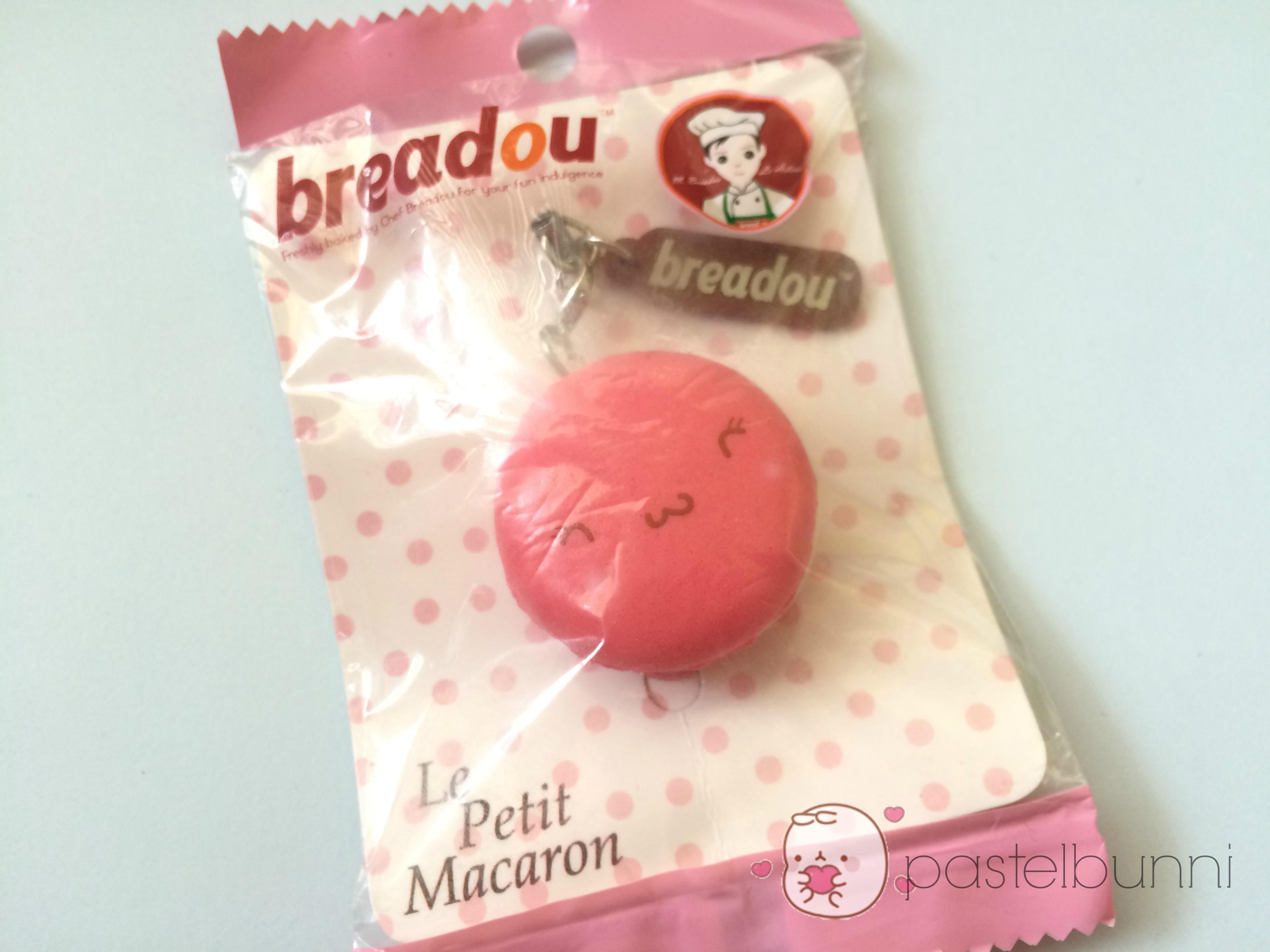 Rare Breadou Rosie Dark Pink Macaron Squishy on Storenvy