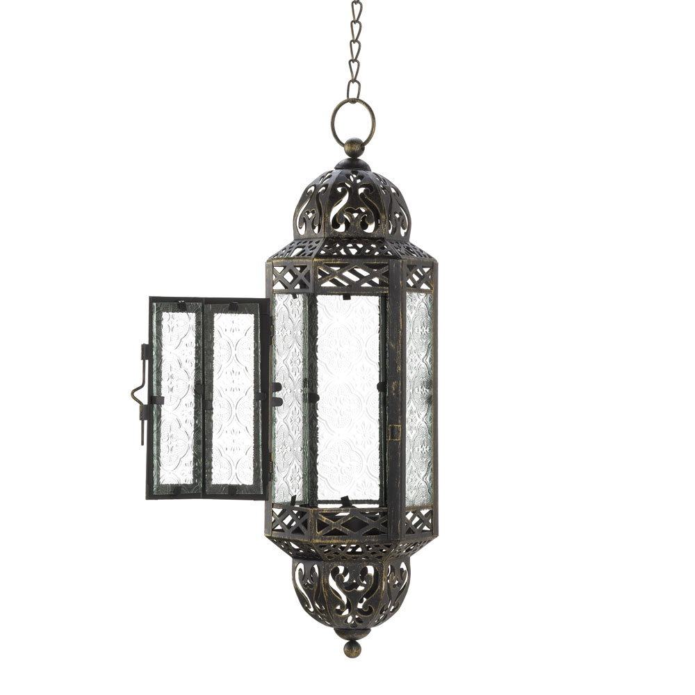Hanging Victorian Candle Lantern on Storenvy