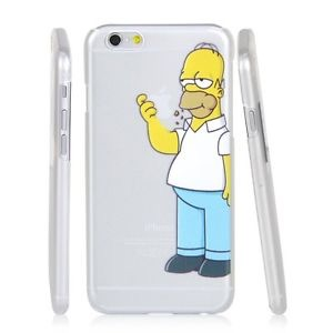 new concept 75fb6 9a2cd iPhone 6 Homer Simpson Hard Case