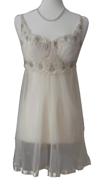 84e50487f Vintage Victoria s Secret Flowing Babydoll Lingerie Top · Storyboard ...