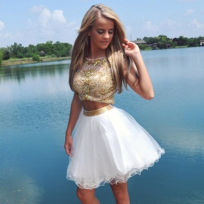 Sexy short prom dress