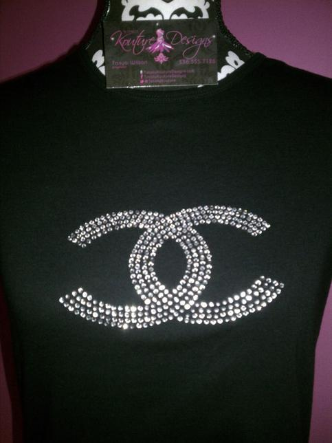 Chanel Bling Tee On Storenvy