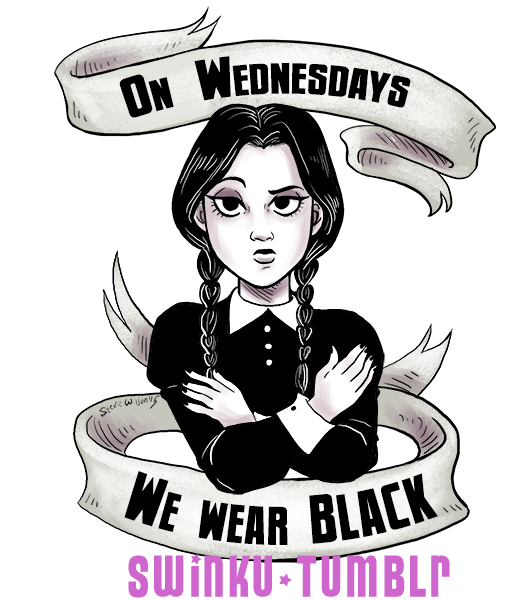 cursing coffee sticker wednesday addams online store powered by