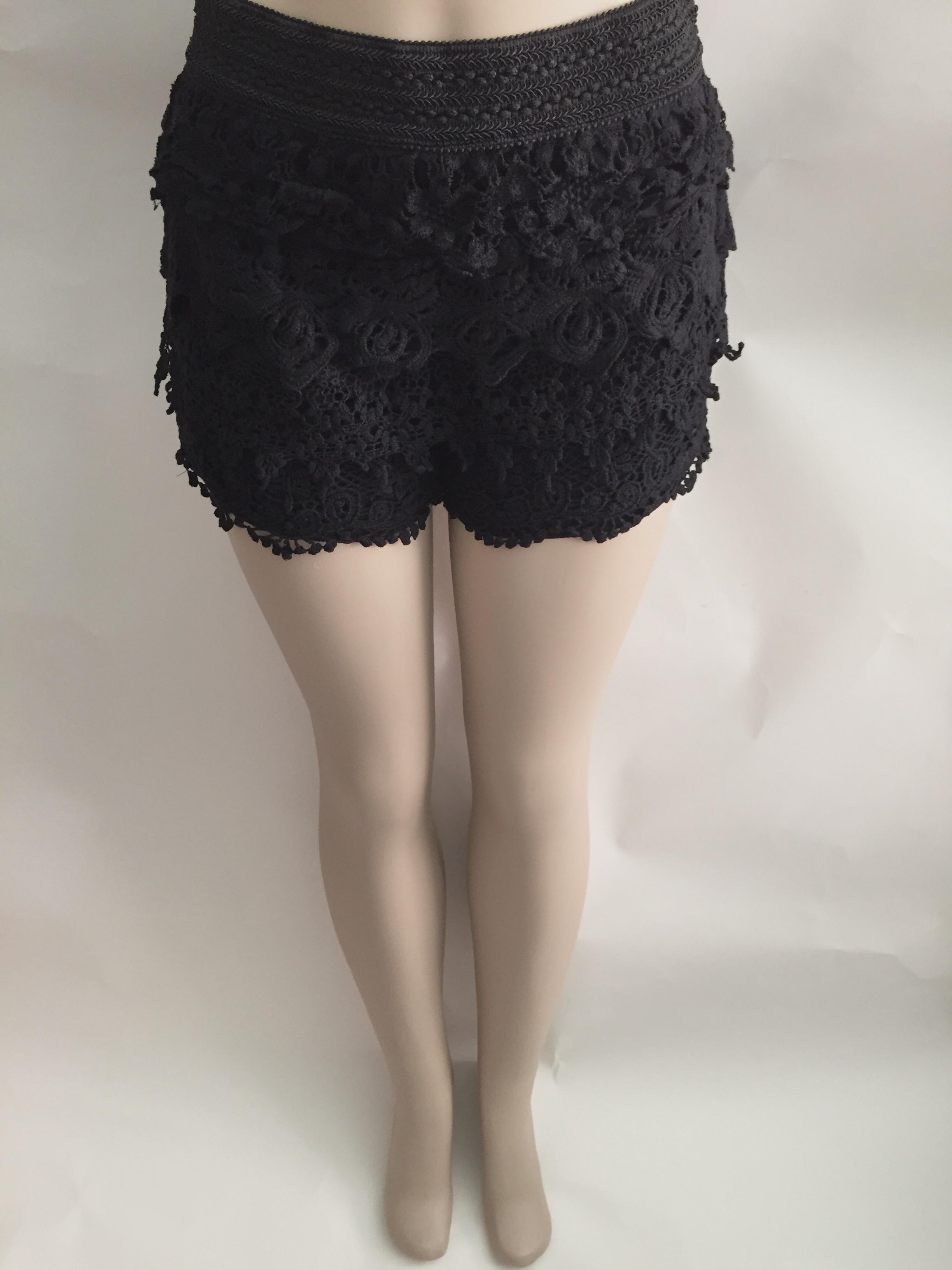 Crochet Shortsblack On Storenvy