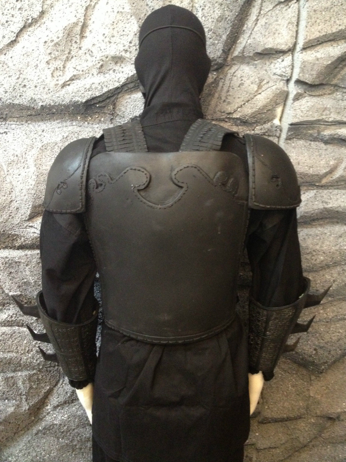 Batman Dark Knight League Of Shadows Armor Costume Ninja