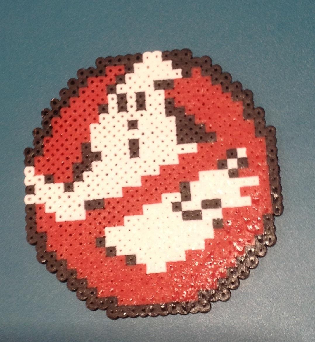 Ghostbusters Perler Bead Art