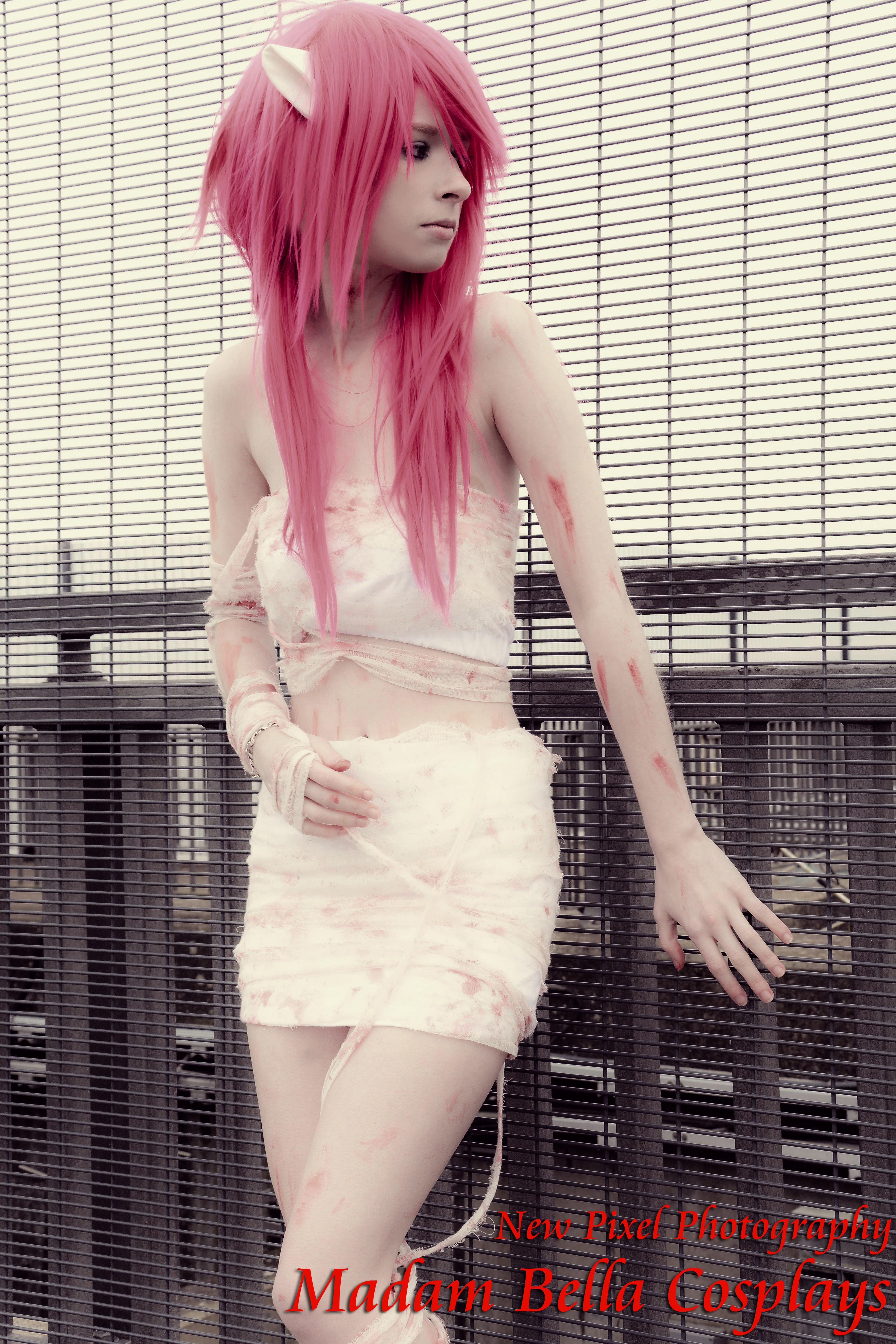 Elfen Lied Lucy Bandaged Cosplay Print 2 On Storenvy