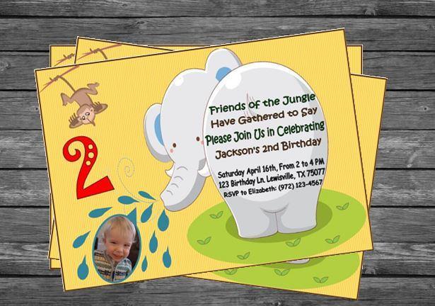 Jungle Birthday Invitation From Invitations More By Terra S