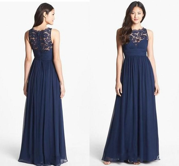 navy blue dress for wedding navy lace bridesmaid dresses chiffon bridesmaid dresses 6115