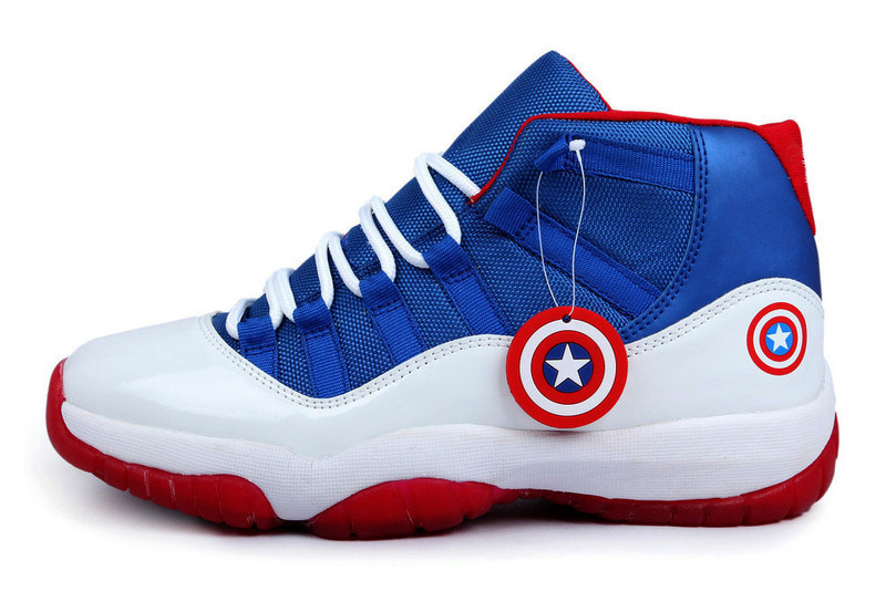watch 5c667 f8a35 Free shipping 3 colors new 2015 cheap price mens basketball shoes for captain  america men s · Hot sale captain america jordan ...