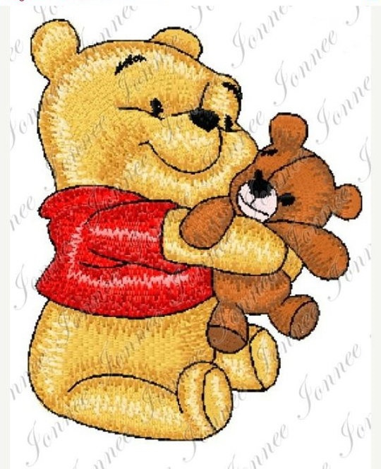 Pooh With Teddy Bear Design 2 Sizes Sold By Ionnee Designs On Storenvy