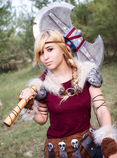 Print Astrid 2 How To Train Your Dragon 2 Lady Devilrose Cosplay Online Store Powered By Storenvy