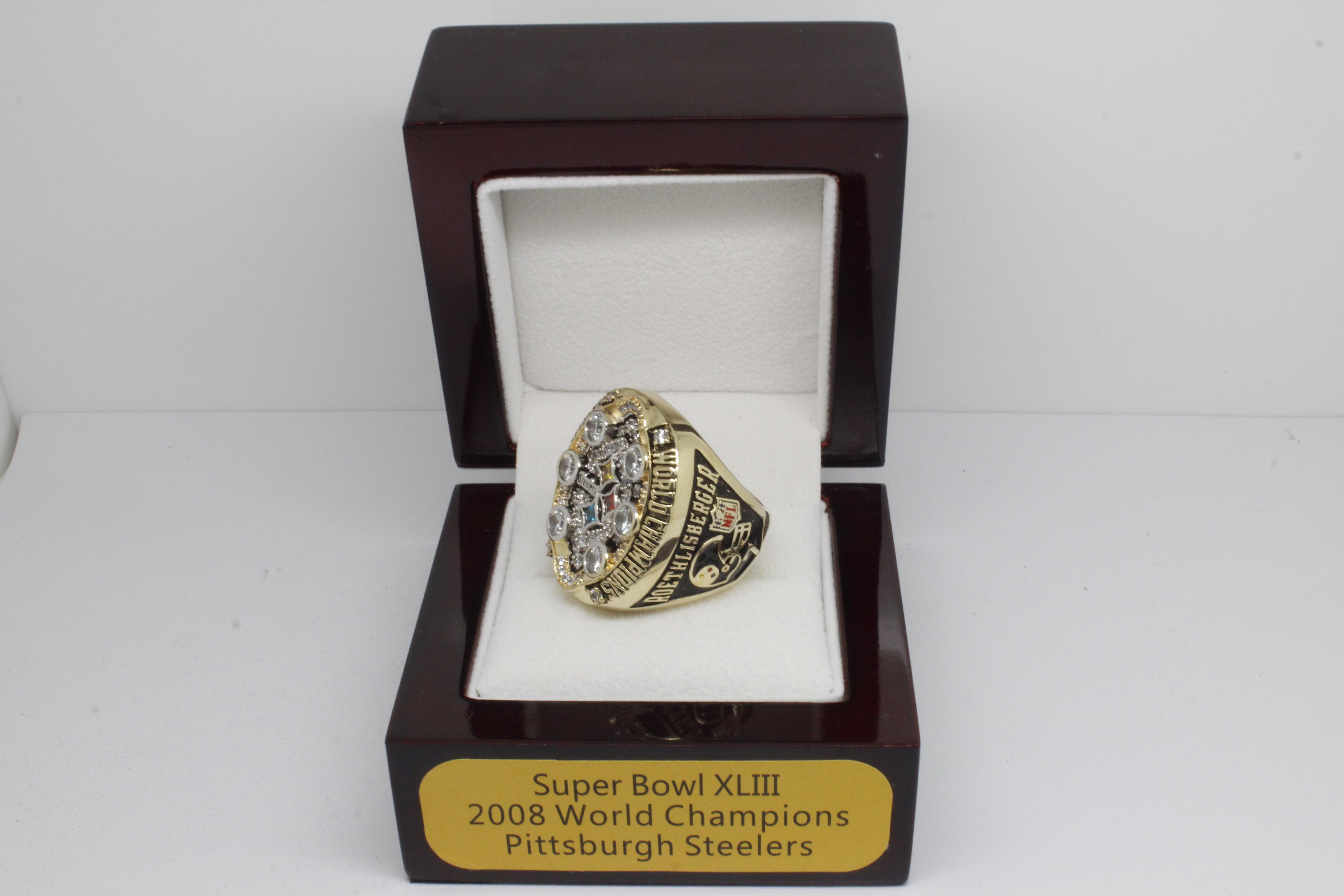 Jiayi Home 2008 Pittsburgh Steelers Nfl Super Bowl Championship