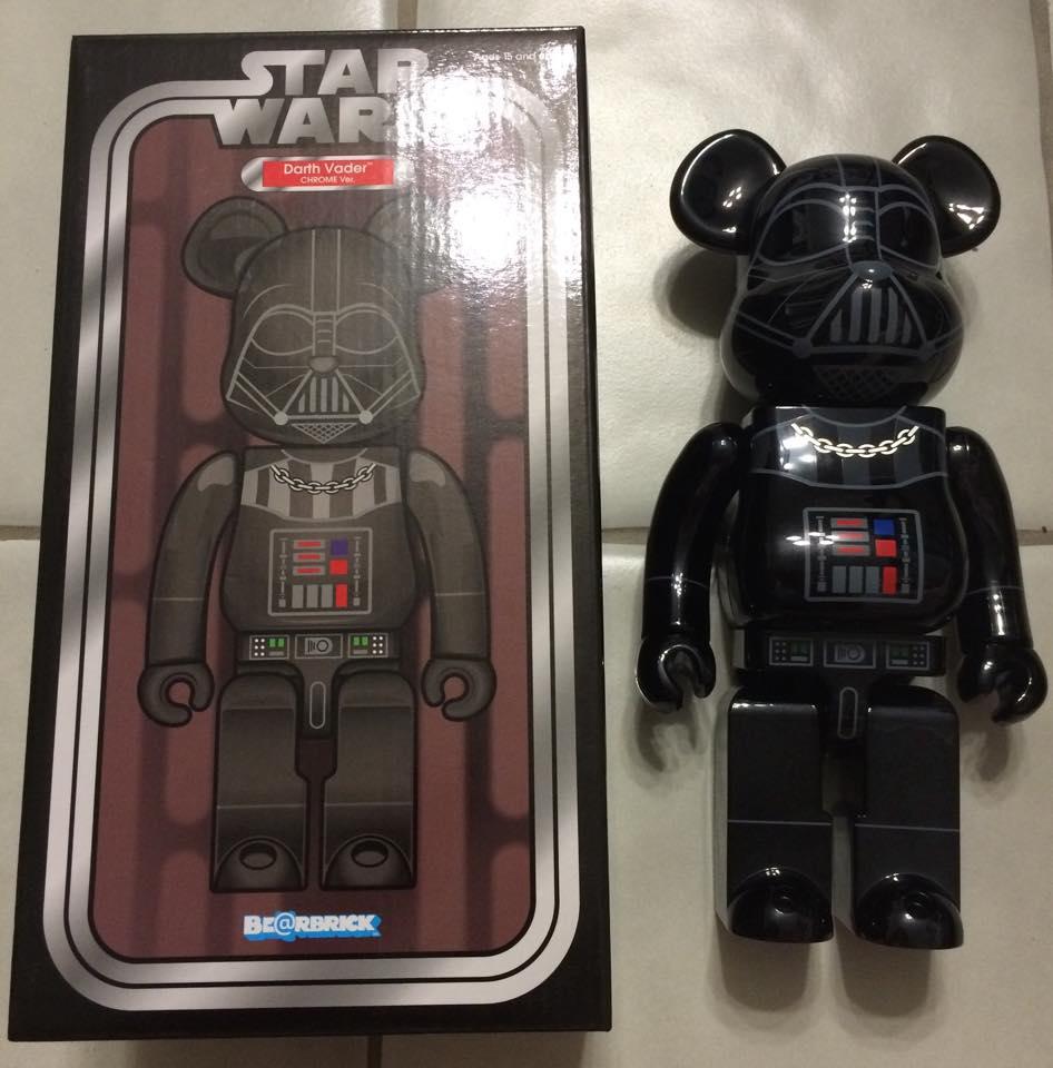 27368ac6 Eqvipped | Medicom Bearbrick 400% Darth Vader Chrome | Online Store ...