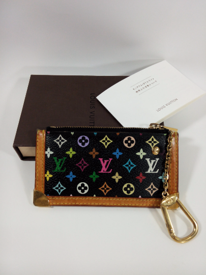 Used Louis Vuitton Purses >> Authentic Used Louis Vuitton Multi Color Coin Purse Sold By Luxara88