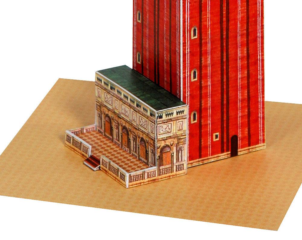 Venice Campanile Paper Model Craft Kit from Paperlandmarks