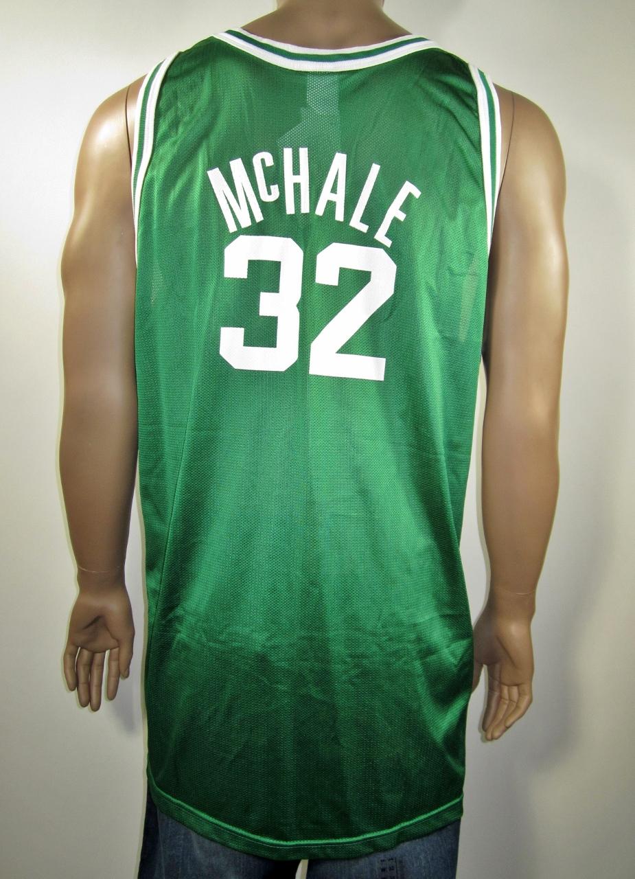 3ec3bcea8b5 best price kevin mchale boston celtics nba 50 gold logo champion jersey 52  nwt thumbnail 1