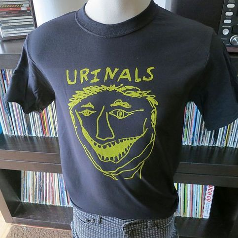The Urinals Band T Shirt Screen Print 100 Flowers On Storenvy