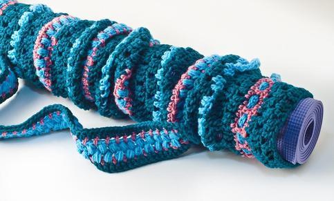 Custom Open Crochet Yoga Mat Bag On Storenvy