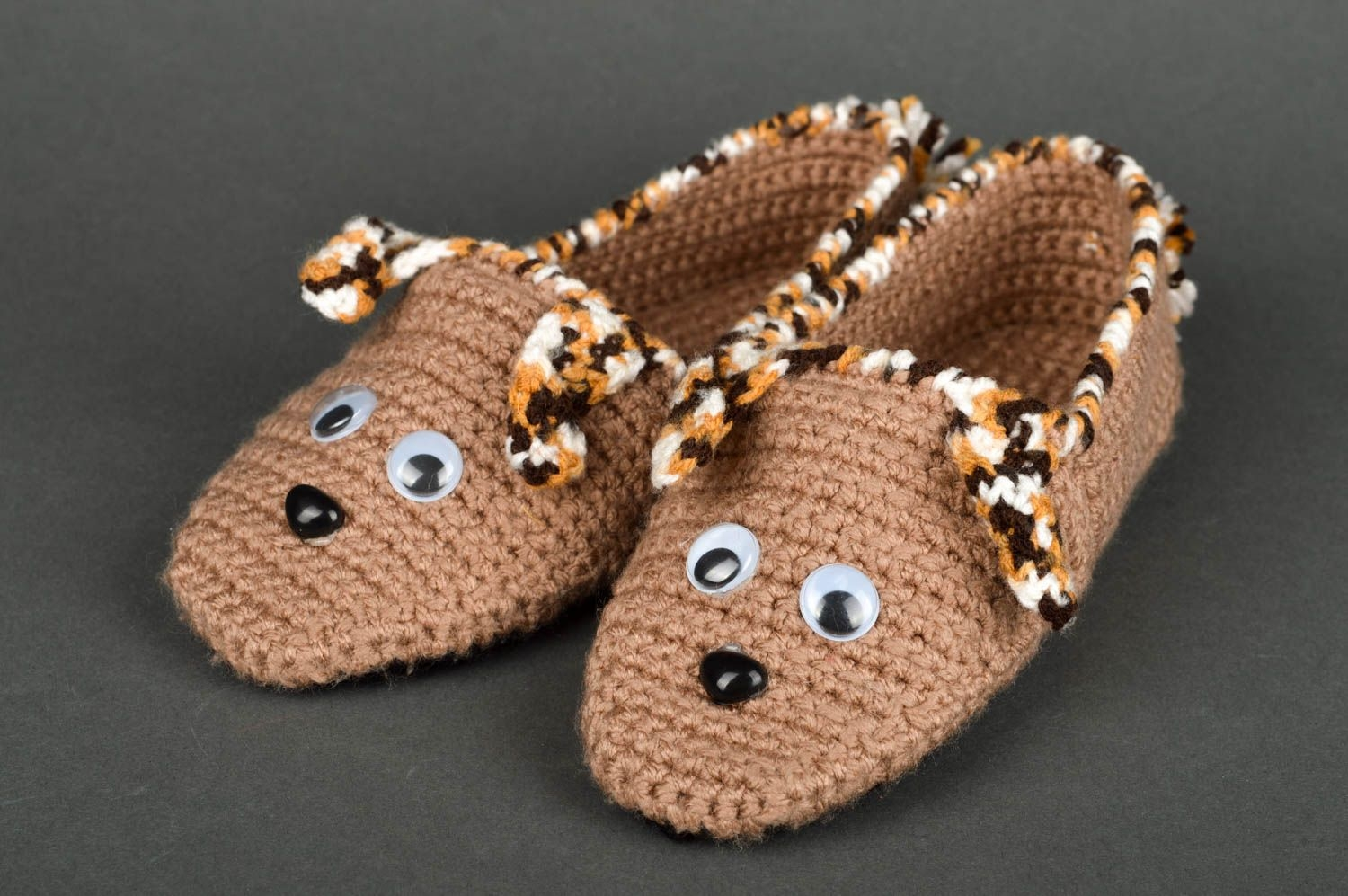 Handmade House Shoes Crochet Baby Slippers Goods For Children Baby