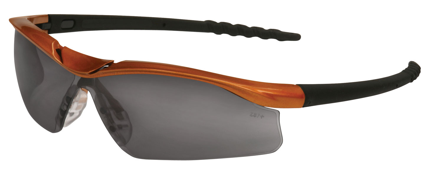 178096c9d8 Dallas Safety Glasses Nuclear Orange Brow Guard Gray Lens on Storenvy