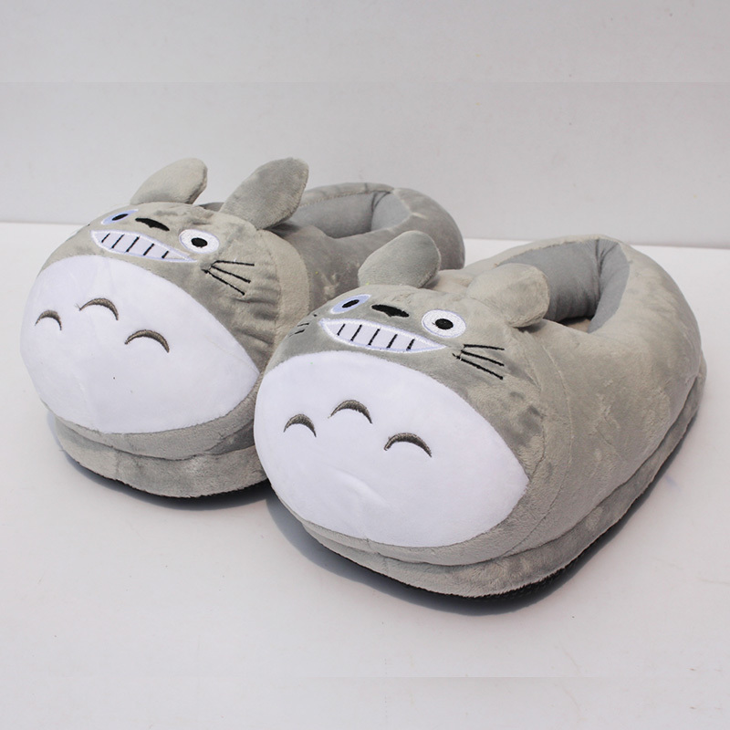 125ecc7385fb 11 28cm my neighbor font b totoro b font plush shoes soft winter indoor  font b