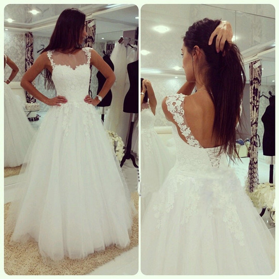 Backless Wedding Gowns For Sale: Lace Wedding Dresses,Backless Wedding Gowns,Back Up Lace