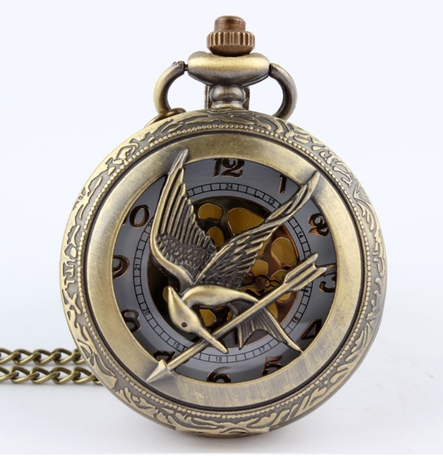 7852a4a9d Hunger games pocket watch on Storenvy