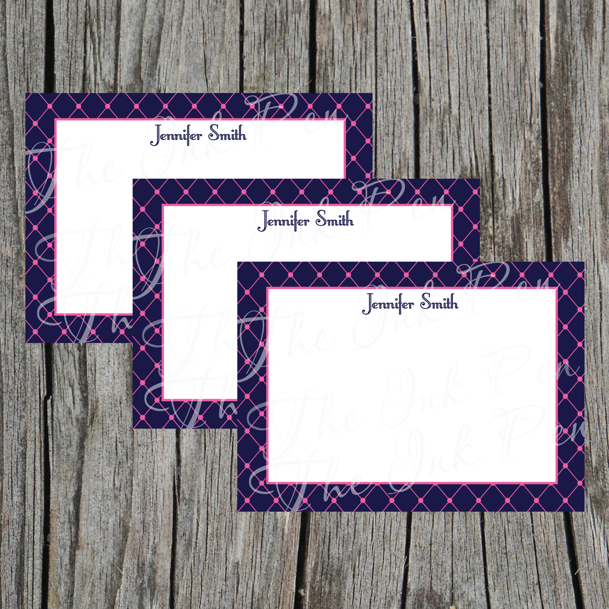 photograph relating to Printable Notecard named Basketweave Electronic Printable Notecard in opposition to Ooh La La Printables